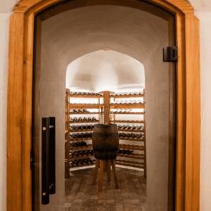 Weinkeller in Finnland